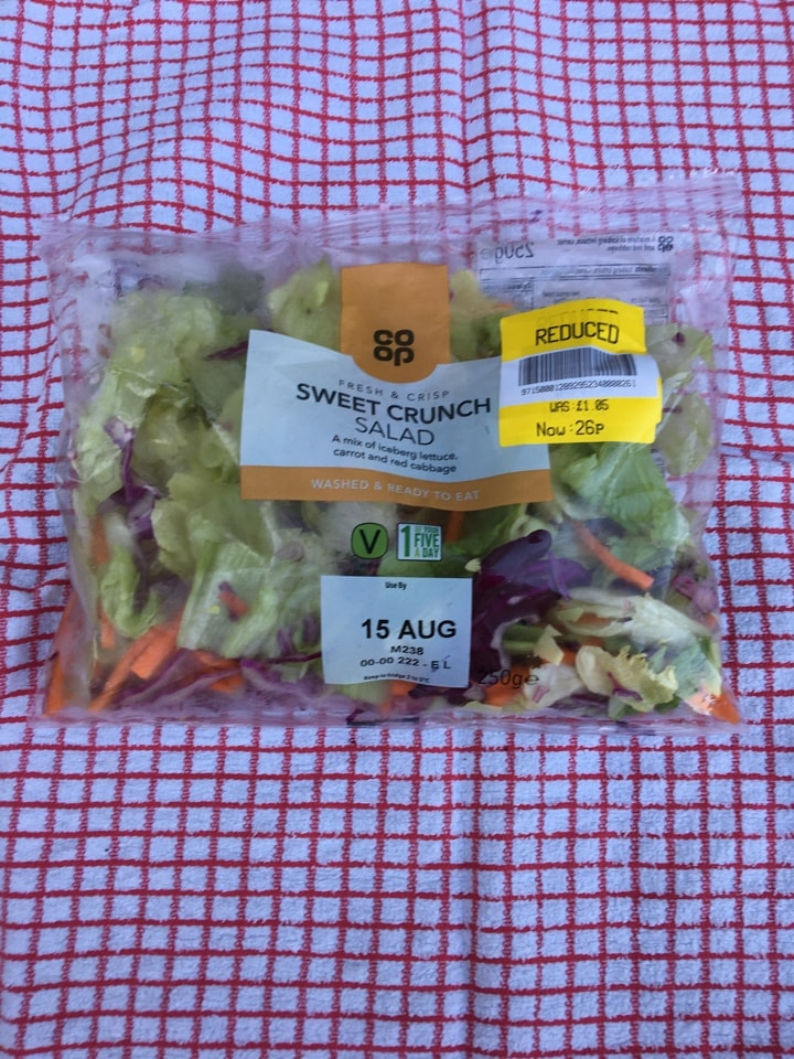 Sweet crunch salad MUST BE COLLECTED TONIGHT