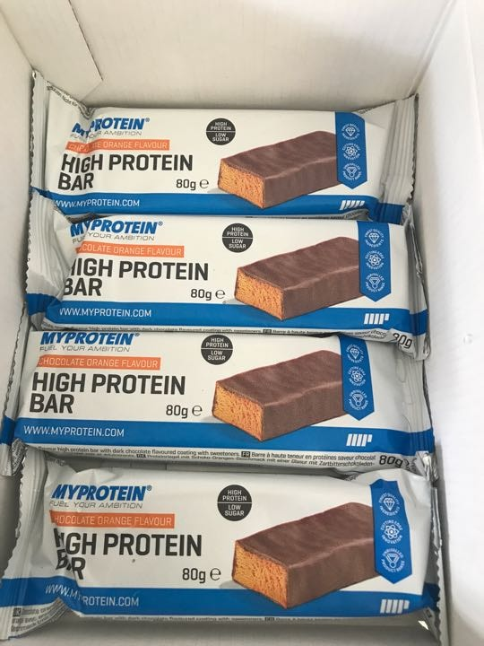 Protein Bars - Chocolate Orange 🍊 🍫