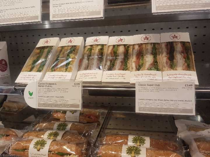 Pret Sandwiches And Baguettes. Wraps and flatbread.