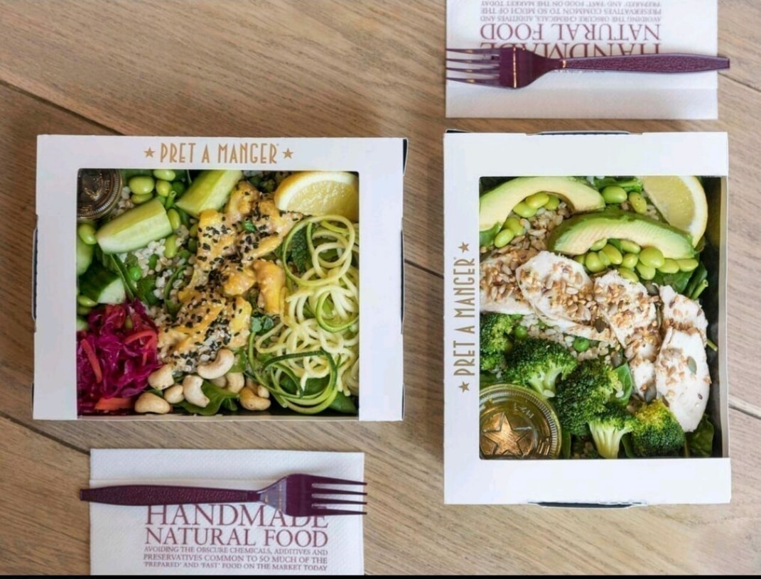 Pret A Manager Salad - 1 Pret's Protein Box