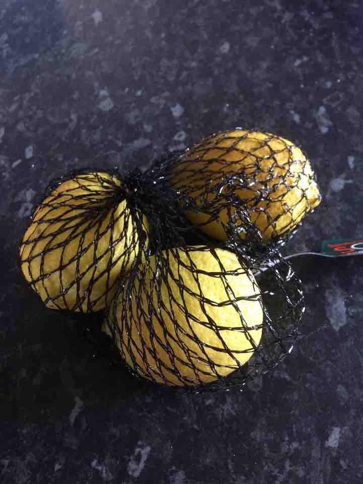 3 large lemons ( 3 packs available)