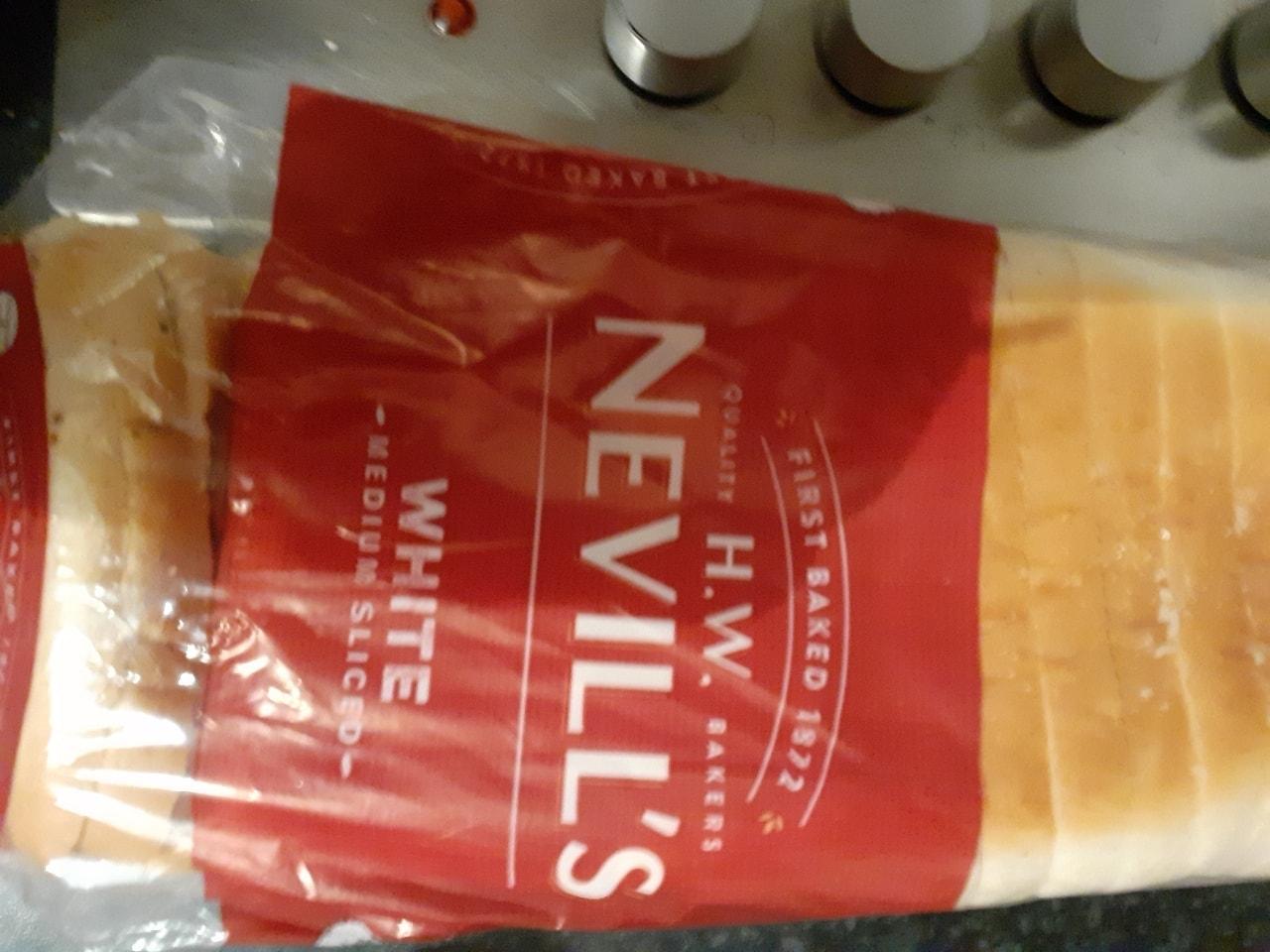 Neville's white medium sliced