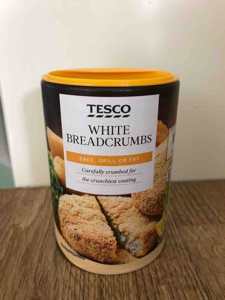 White breadcrumbs
