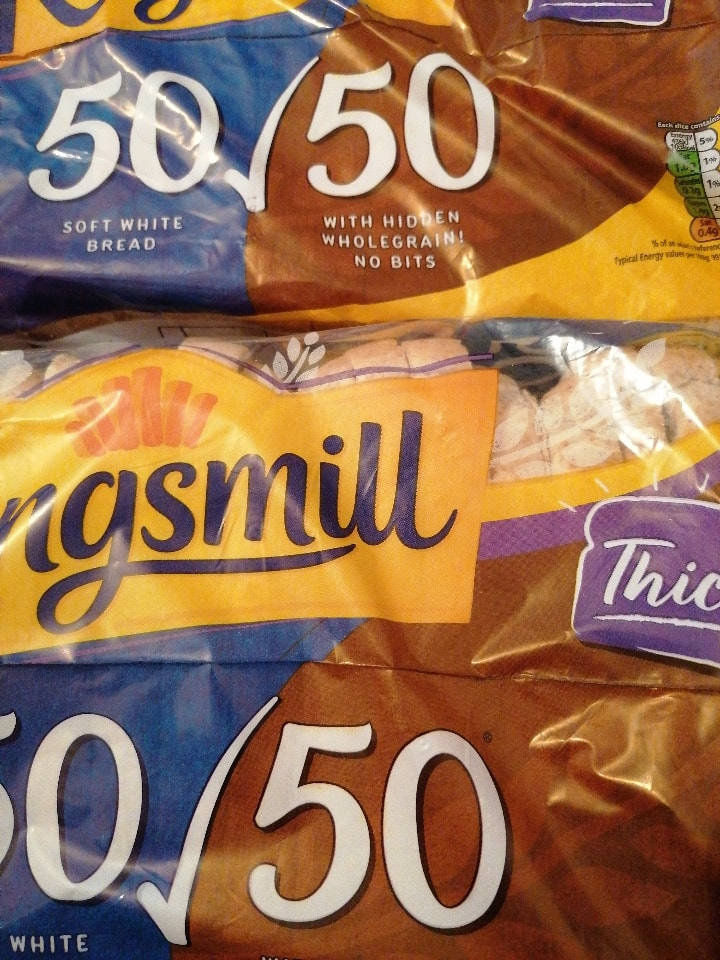 Kingsmill 50/50 thick sliced