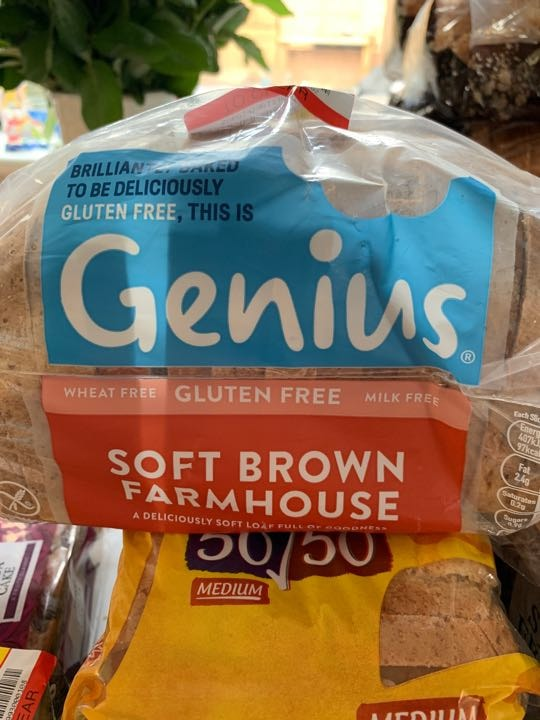 Genius brown bread