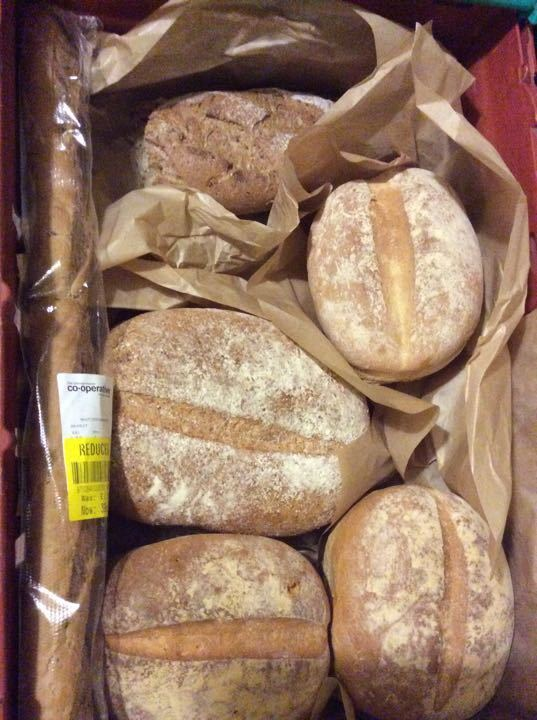 Selection crusty loaves