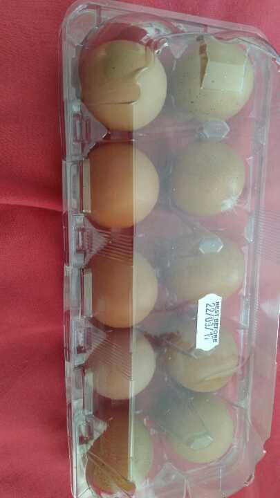 Free range eggs from Hamptonne Farm