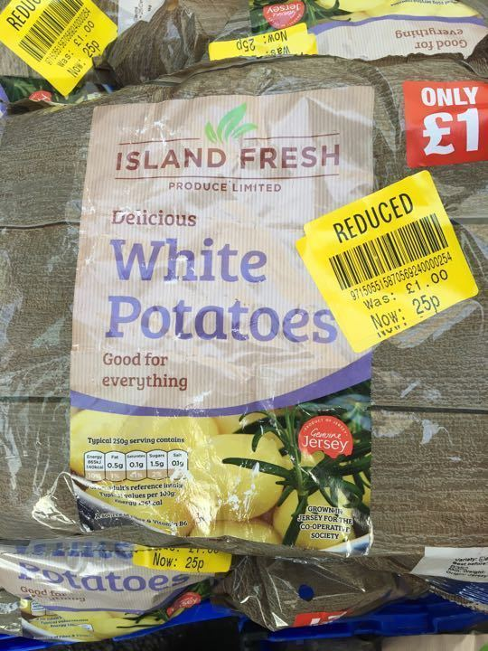 White potatoes X6