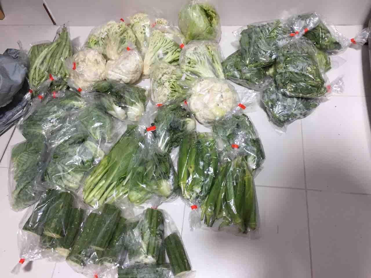 Rescued vegetables