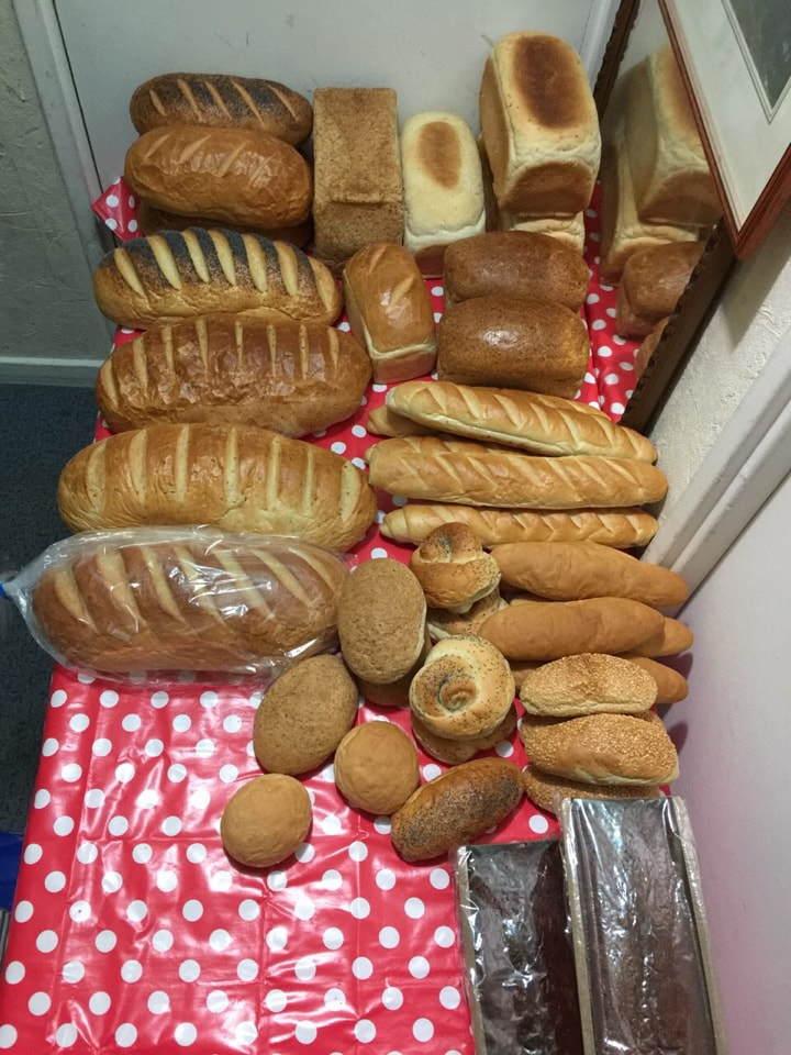 15 assorted loaves from Parkway Patisserie