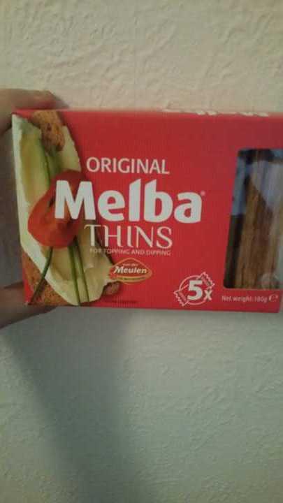 Melba Thins unopened