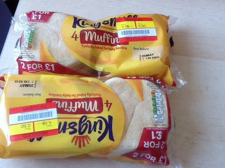 Muffins One pkt left