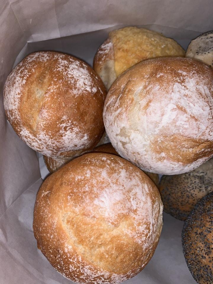Freshly baked from Pesso lilla essingen