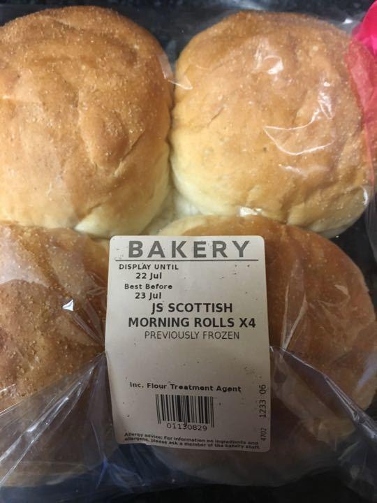 Scottish morning rolls