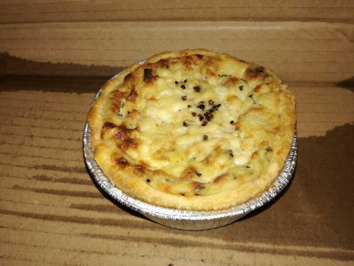 SOURCED MARKET MARYLEBONE Cheese & Potato Pie x 1