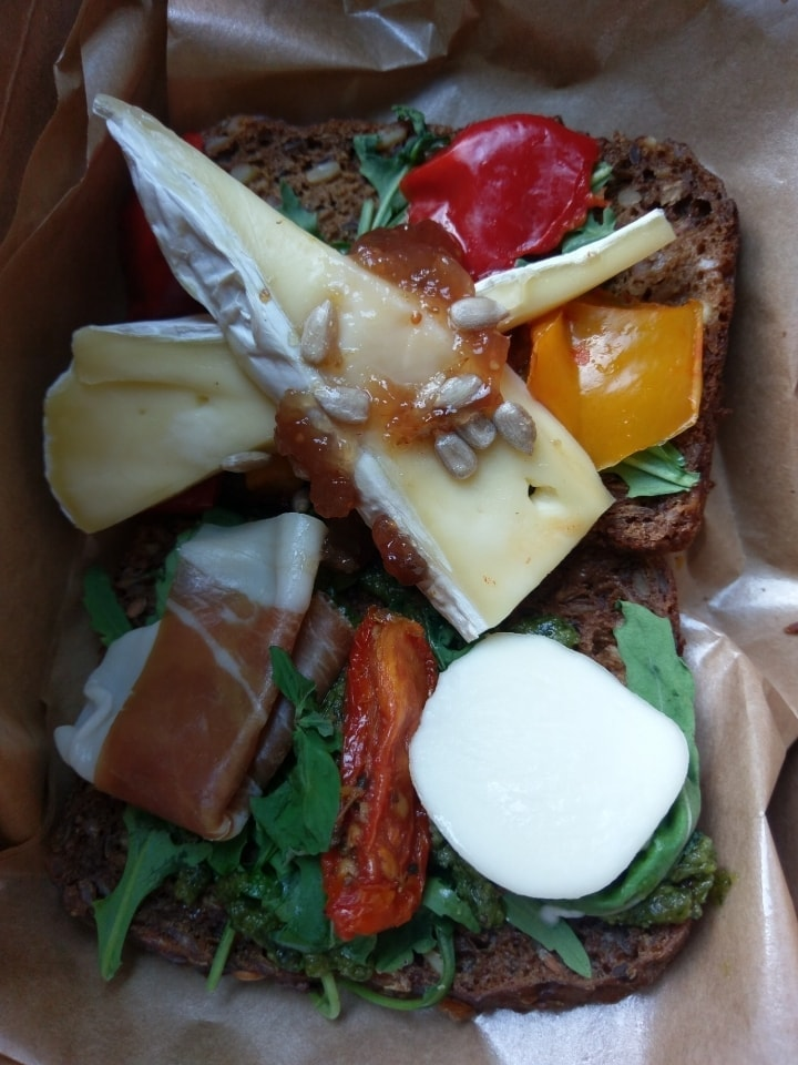3 Mixed open sandwiches