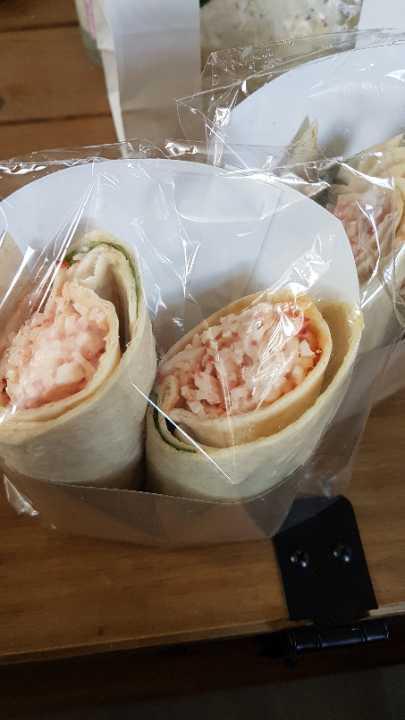 Crab wraps