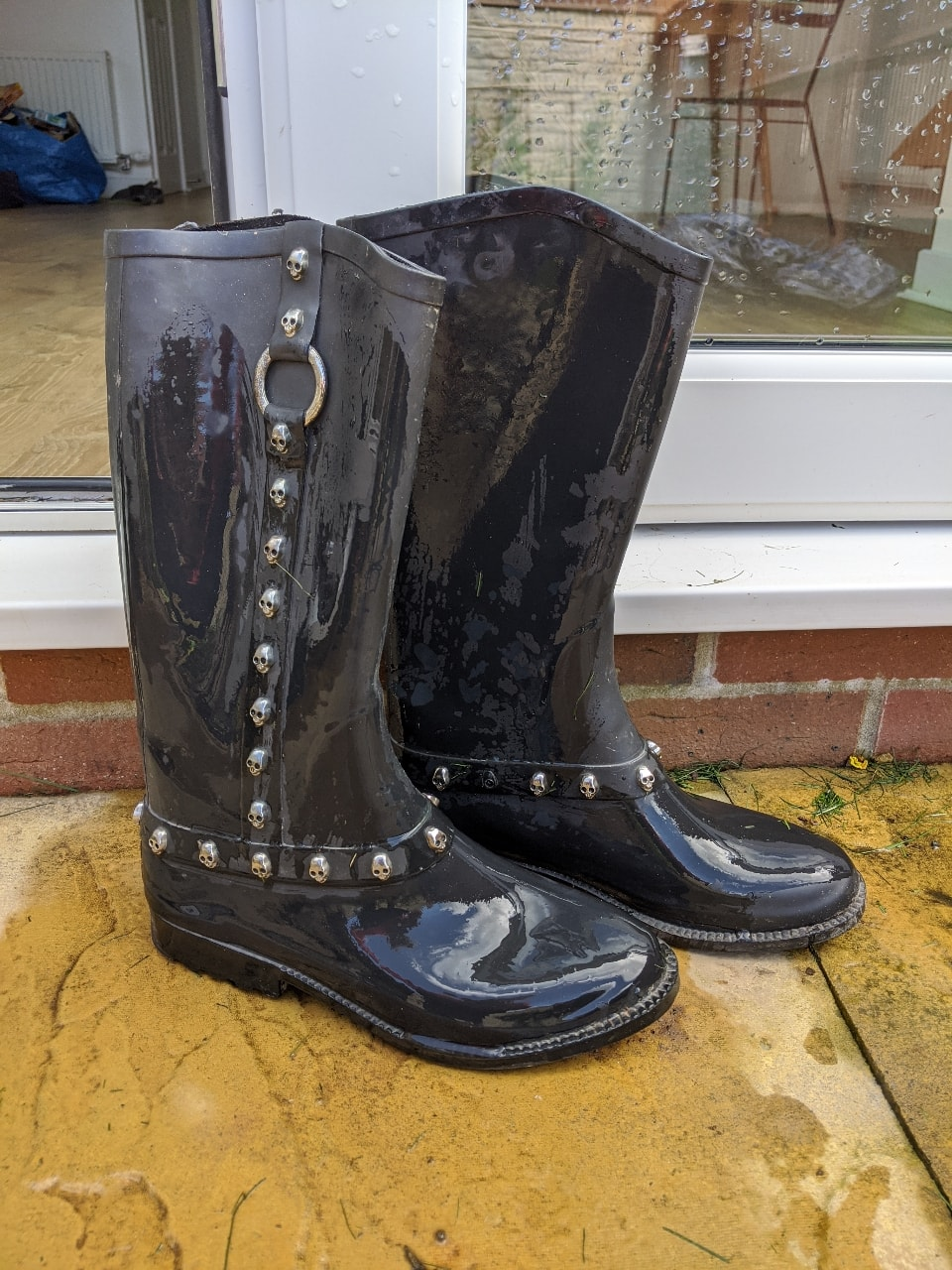 River Island wellies size 8