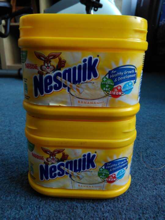 2 x 300g Nesquik Banana Milkshake Powder