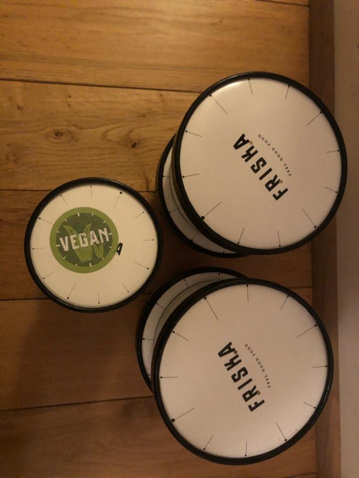 Friska - vegan selection