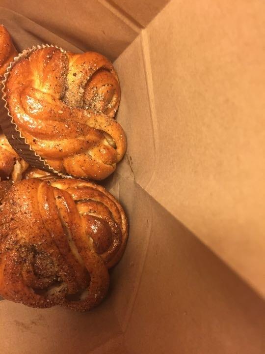 Cardamom buns fresh