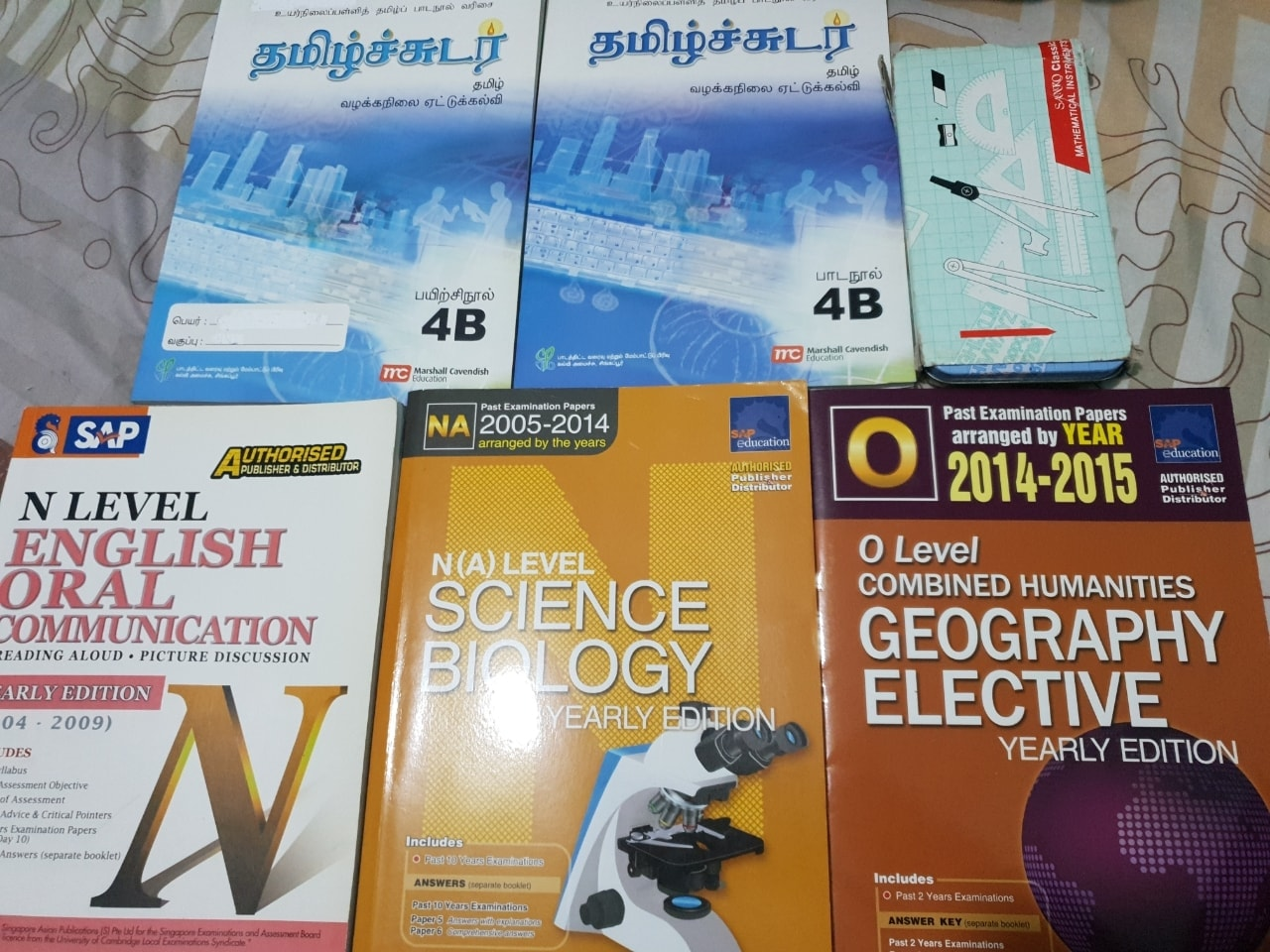 Secondary 4 TYS Books NEW