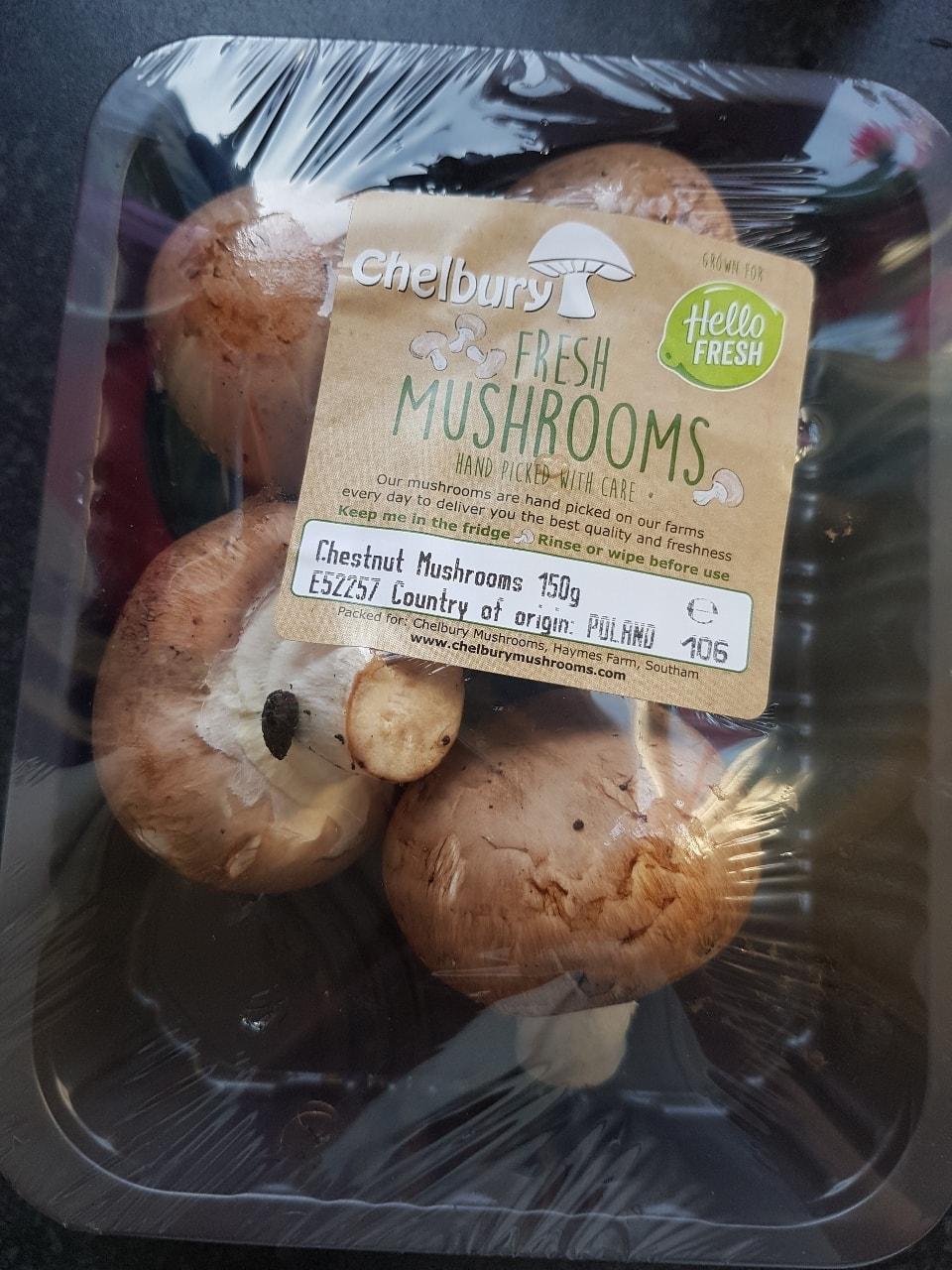 Chesnut mushrooms