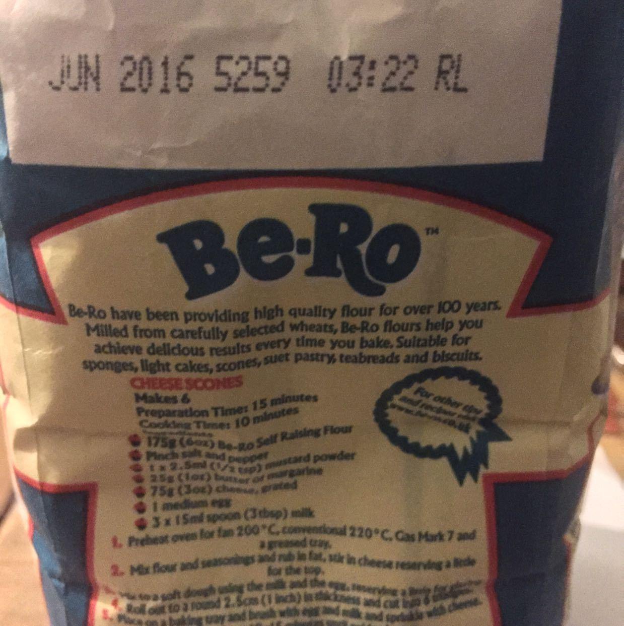 Be-Ro Self rising flour