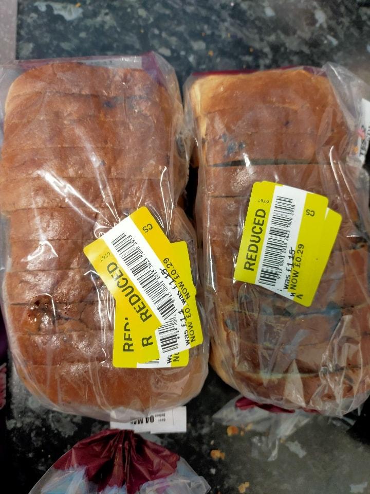Tesco sliced fruit loaf