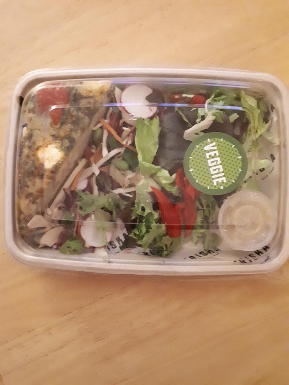 Friska veggie frittata salad