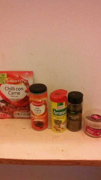 Spices and recipe mix
