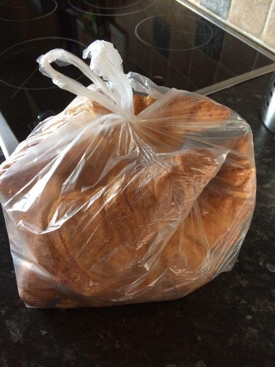Mixed croissants