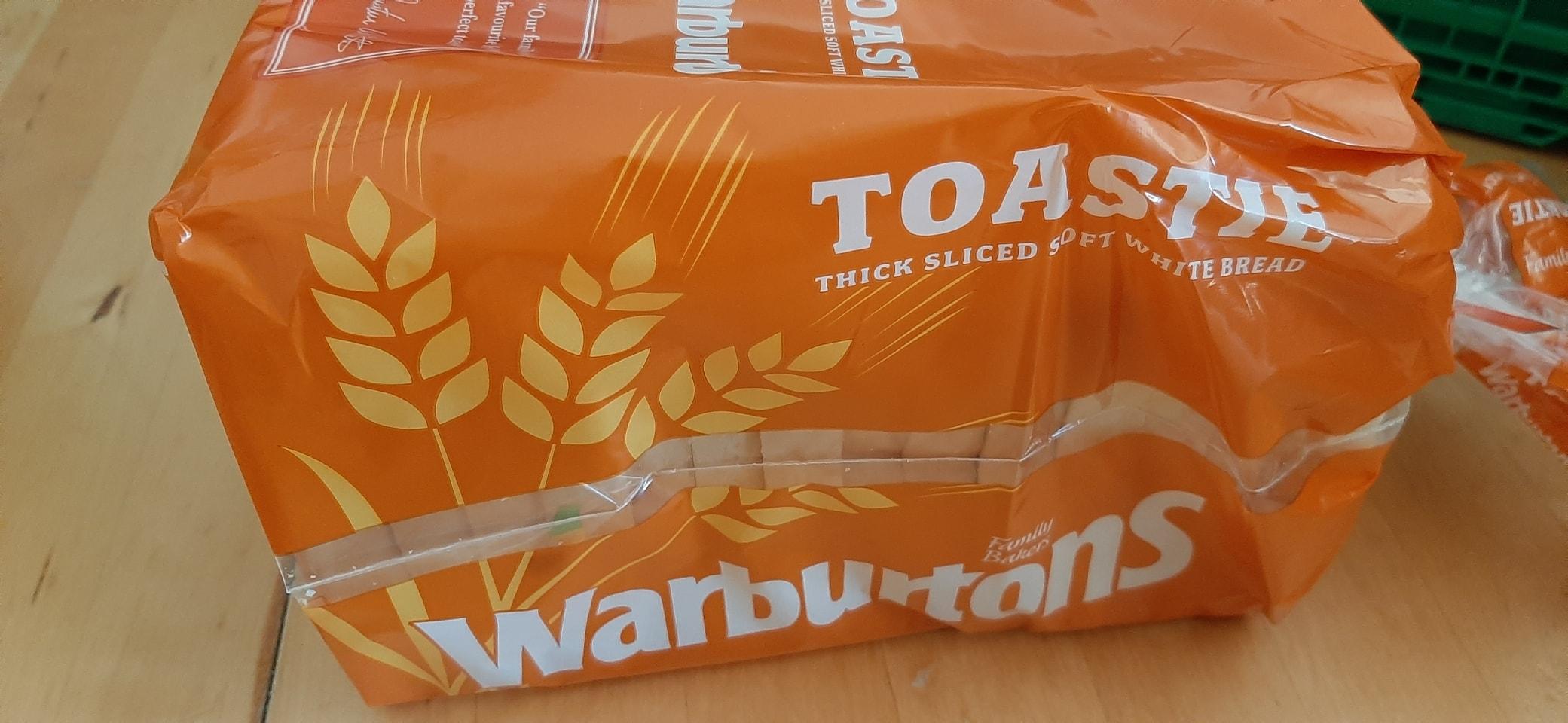 Sml white toastie