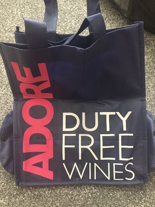 Wine carrying bag - carries 6 bottles