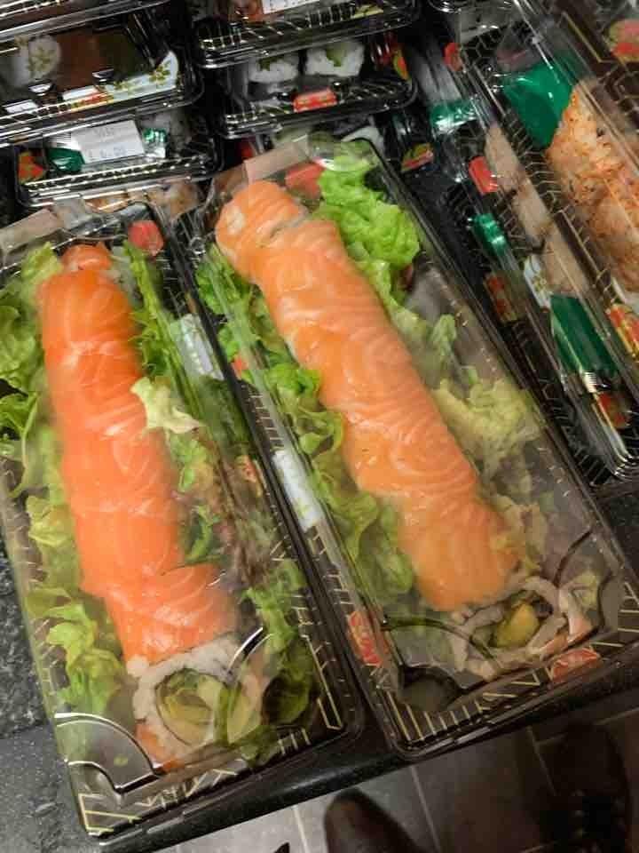 4 x sushi from Selfridges