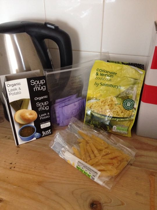 Food bits and liners