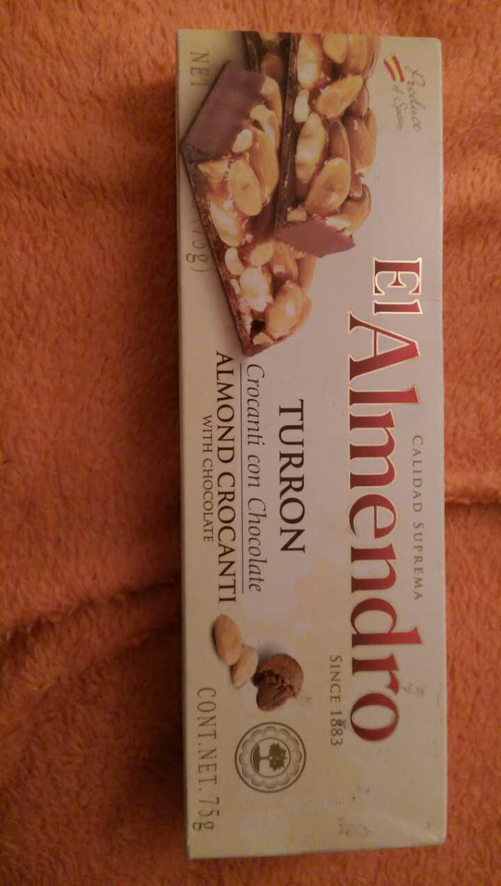 Spanish Nougat (Almond chocolate)