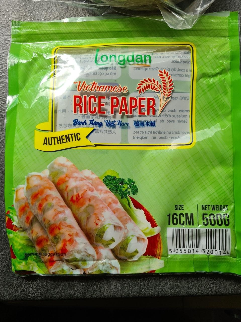 Vietnamese Rice Paper, 16 cm