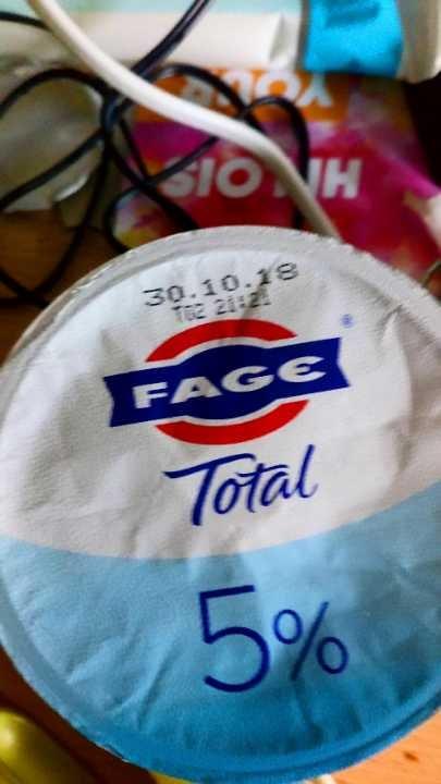 Face Total 5% Natural Greek Strained Yogurt