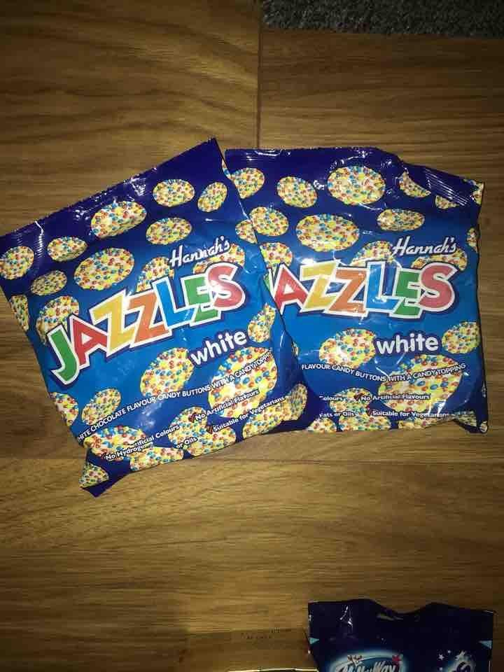 White choc jazzies