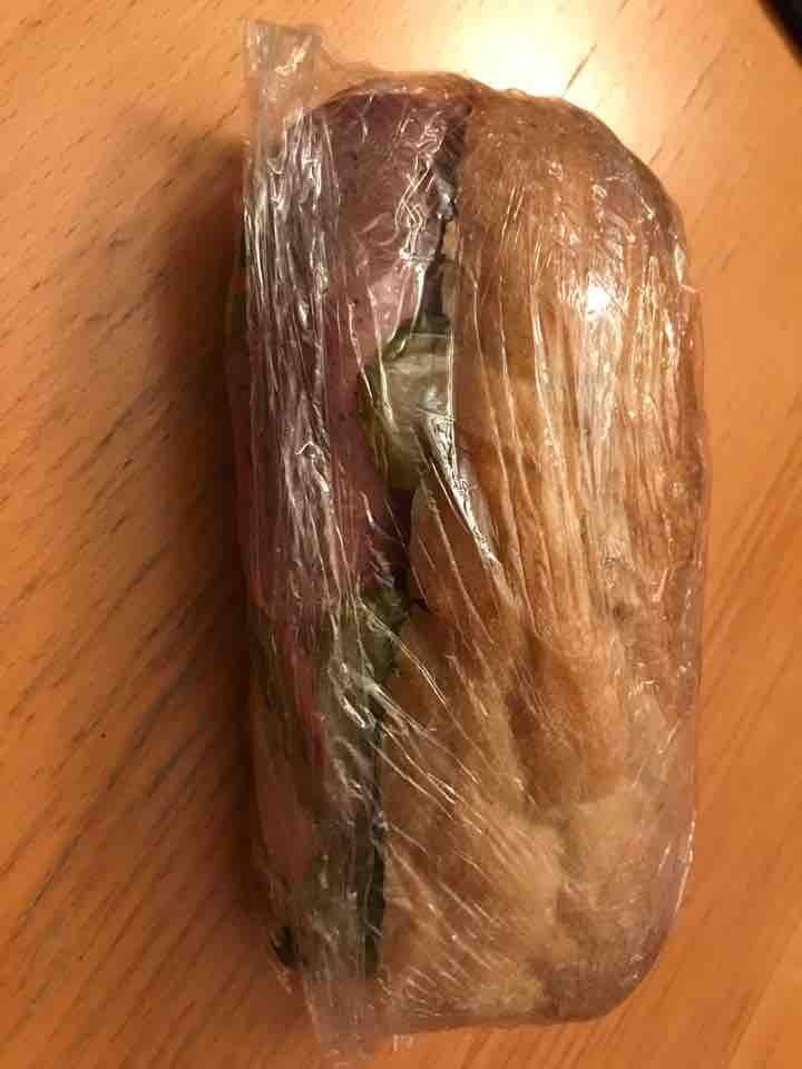 Sandwich w/ pasty