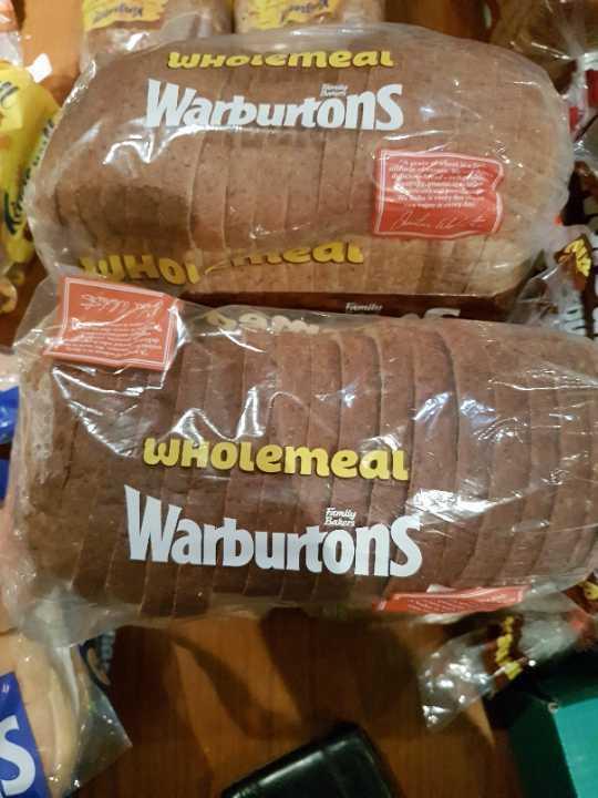 Warburtons Wholemeal