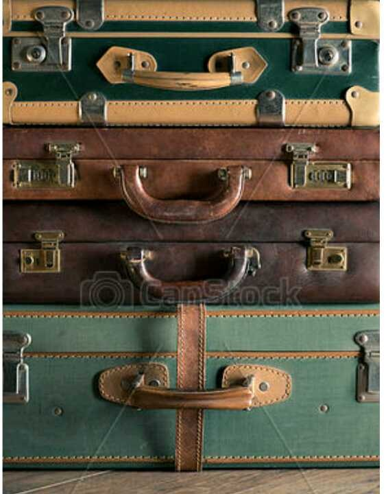 WANTED - Old suitcases or Handles and Buckles.