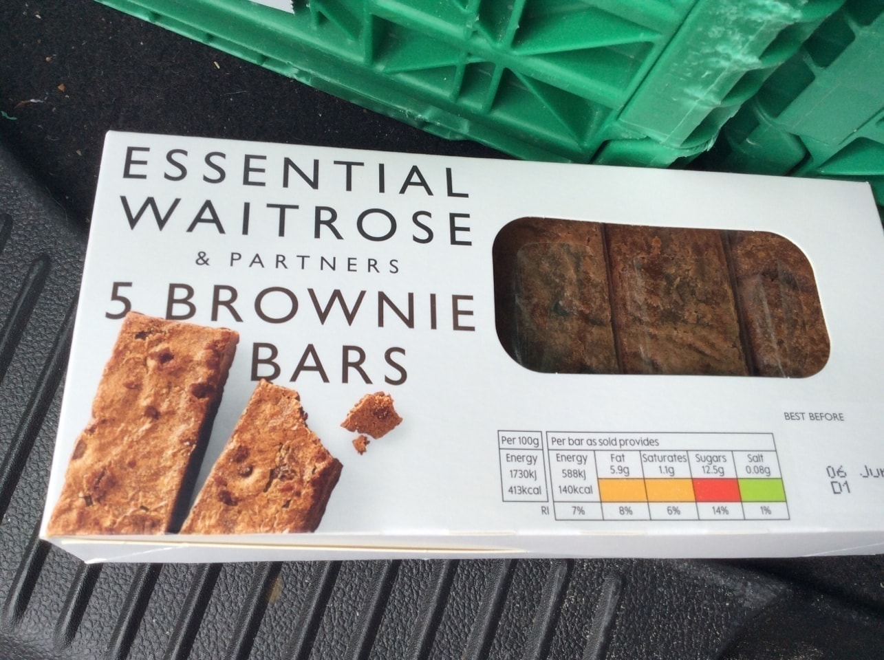 Waitrose brownies