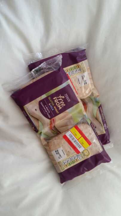 Free from gluten, wheat and milk thins