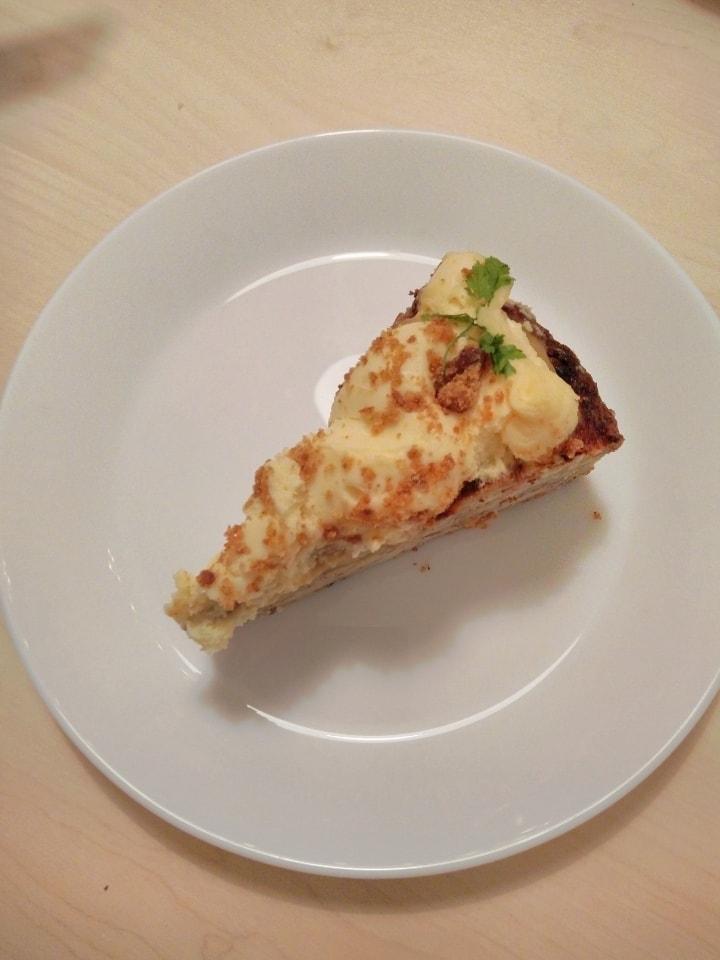 Apple and lemon cake from Fotografiska