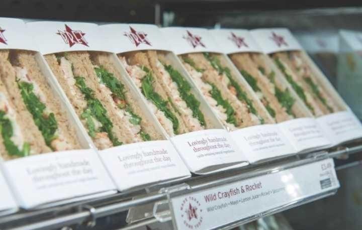 VEG PRET SANDWICHES AND BAGUETTES