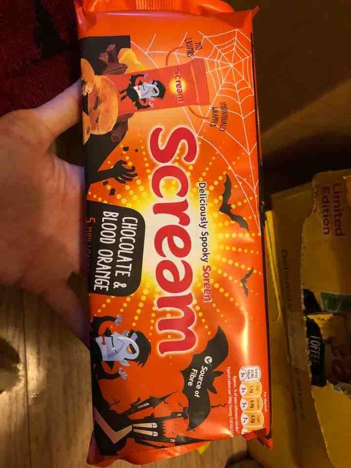 Soreen choc orange