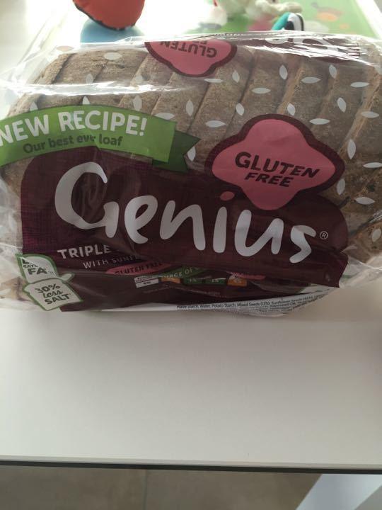 Gluten free sliced bread