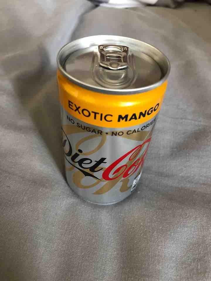 Mini Diet Coke Exotic Mango
